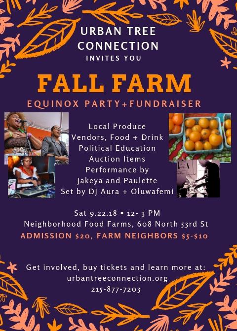 fall farm equinox flyer