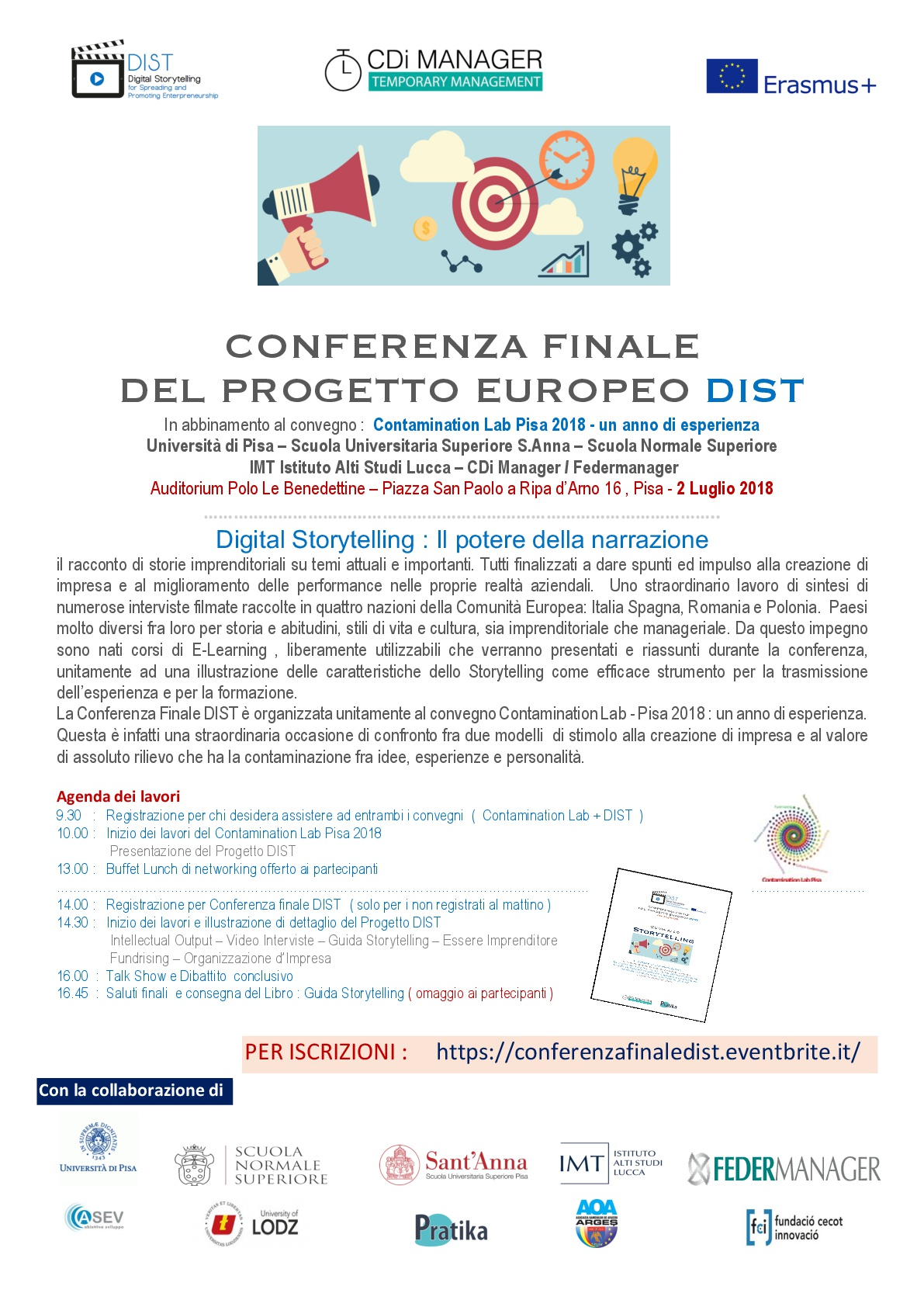 Conferenza finale Dist