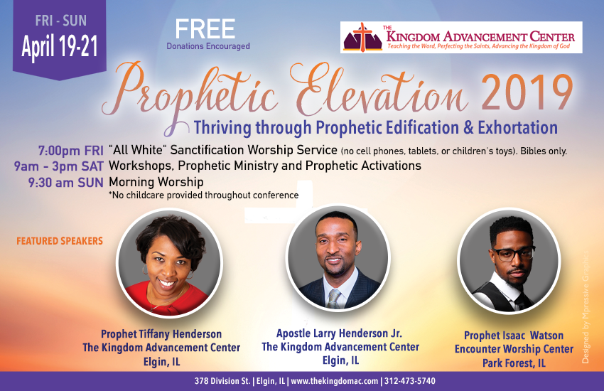 Thriving through Prophetic Edification & Exhortation