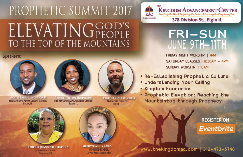 The KAC Prophet Summit Conference 2017!