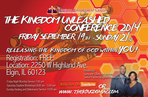 The Kingdom Unleashed Conference 2014