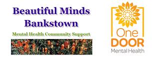 Beautiful Minds Bankstown and One Door Mental Health Logo