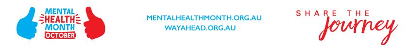 WayAhead Mental Health Month