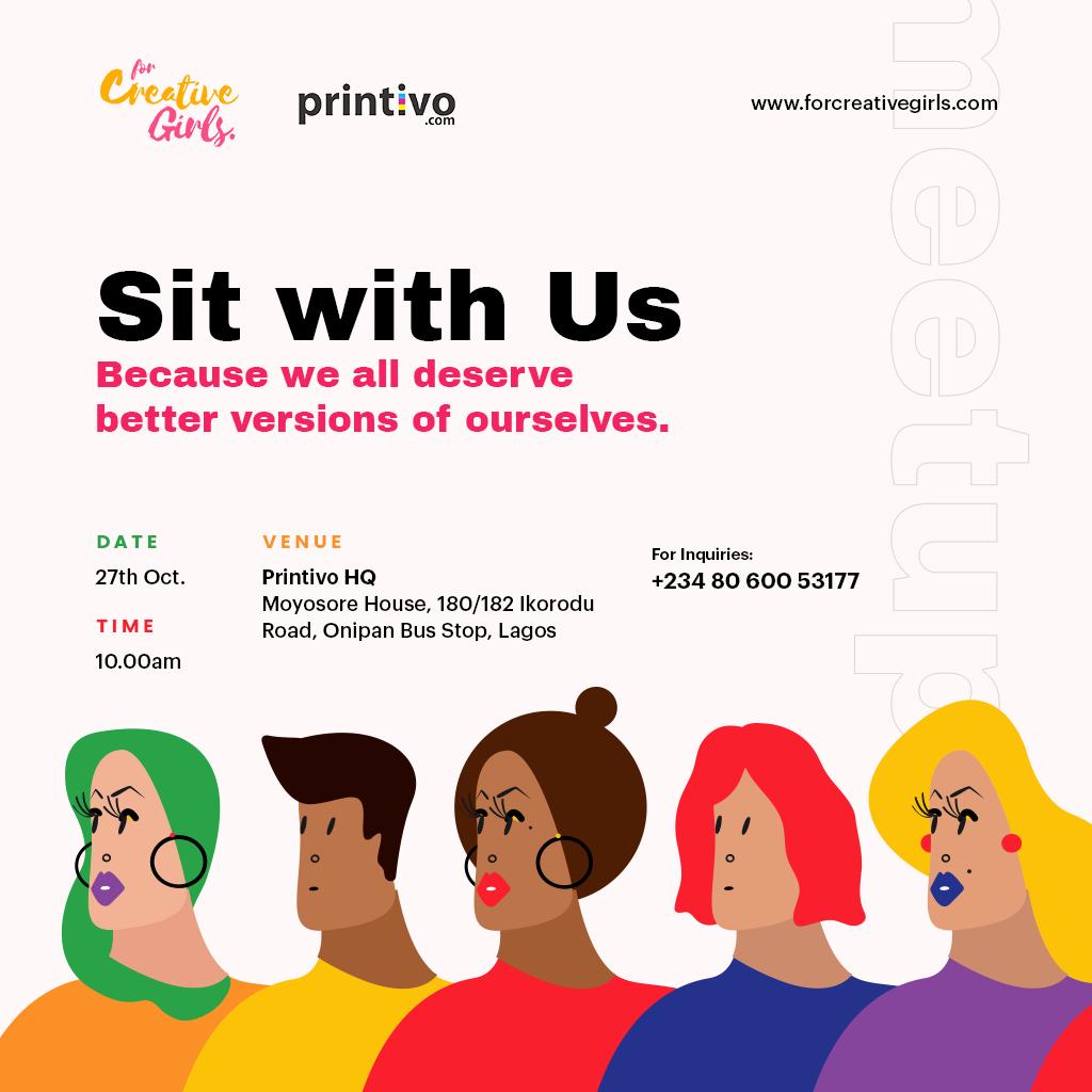 For Creative Girls X Printivo