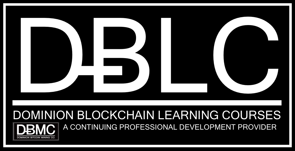 Dominion Bitcoin Learning Courses Logo