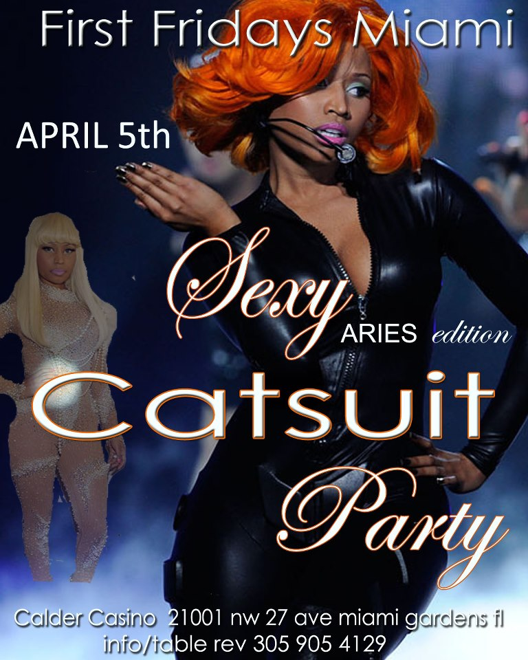 First Fridays Miami Sexy Catsuit Party