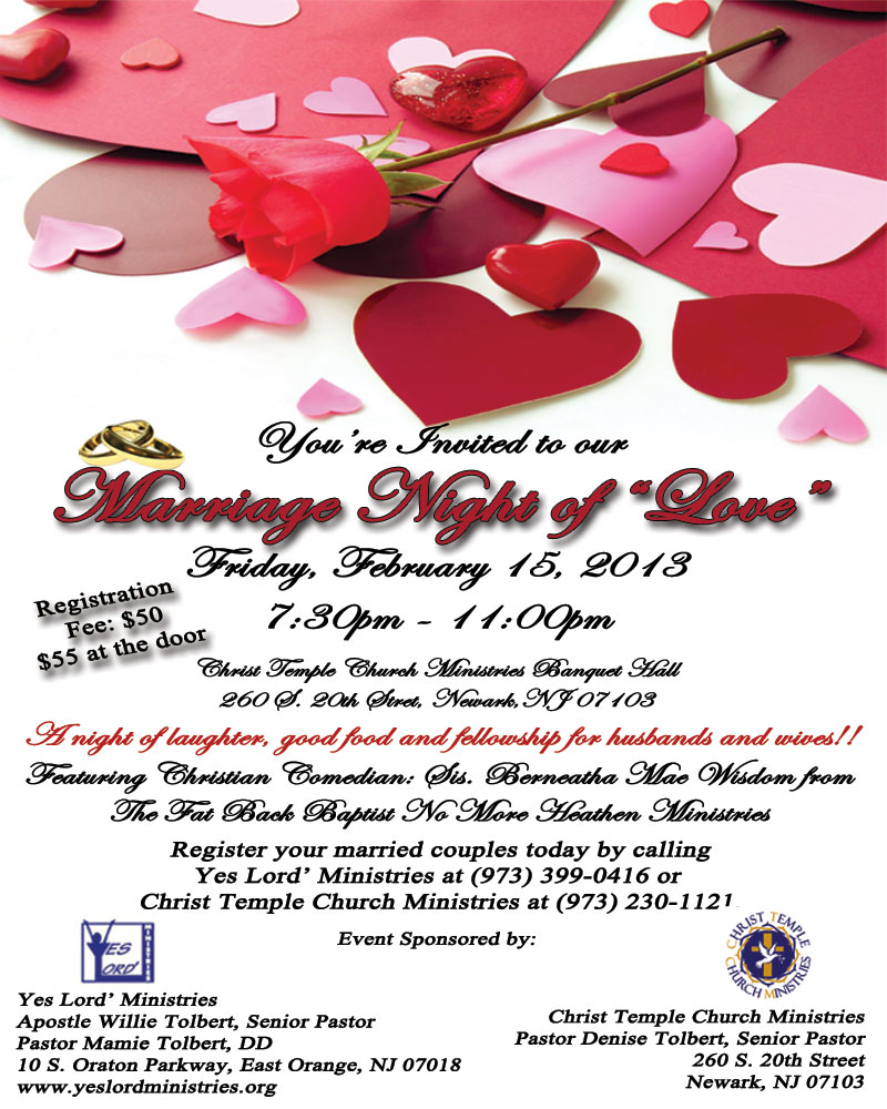 Marriage Night of Love