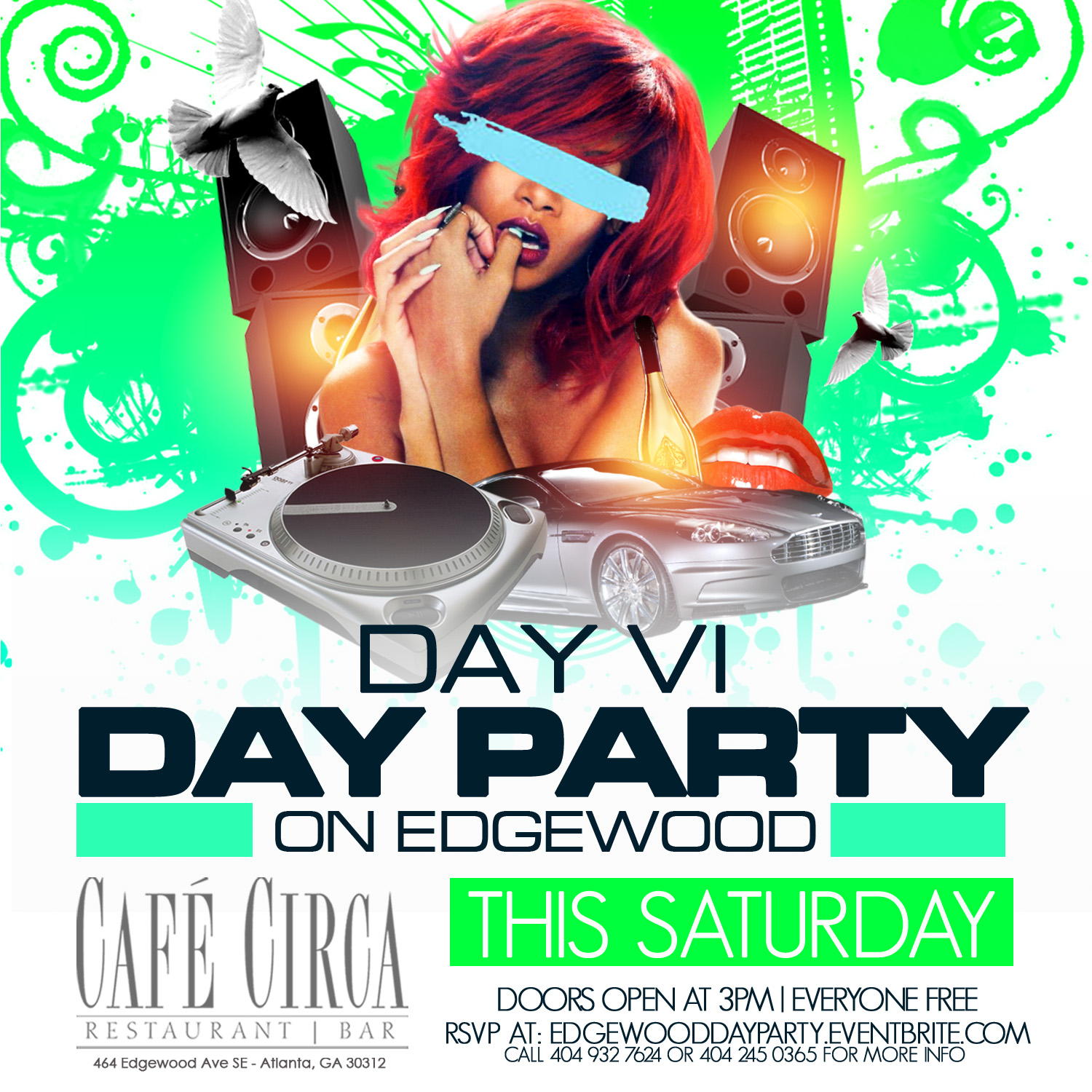 DAY VI DAY PARTY ON EDGEWOOD [FREE] Event
