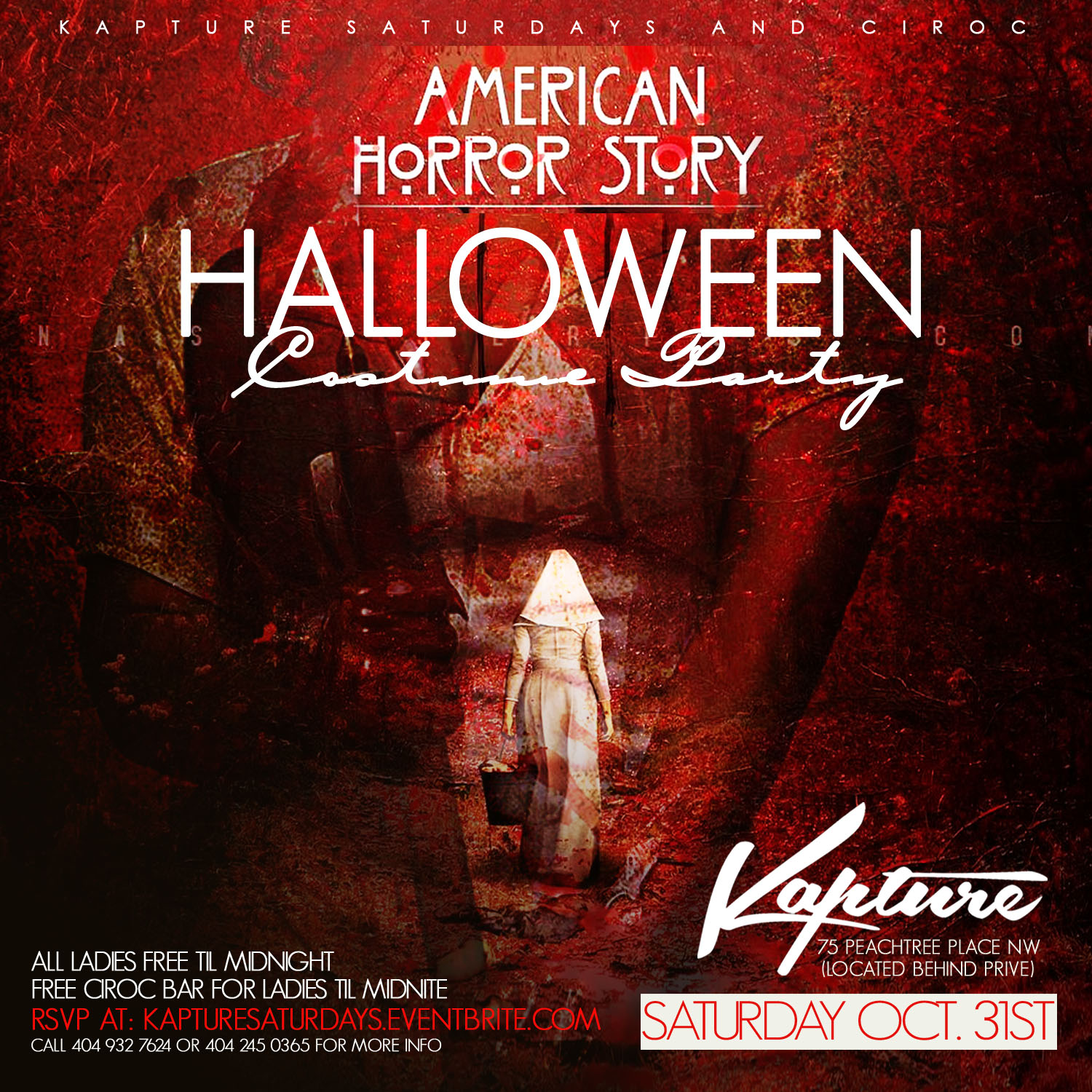 American Horror Story Halloween Party at Kapture this Saturday ...