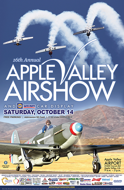 Apple Valley Airshow 2017 Poster