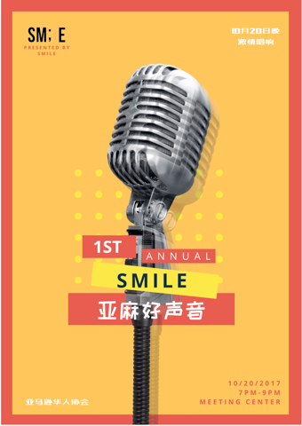 voice of smile poster
