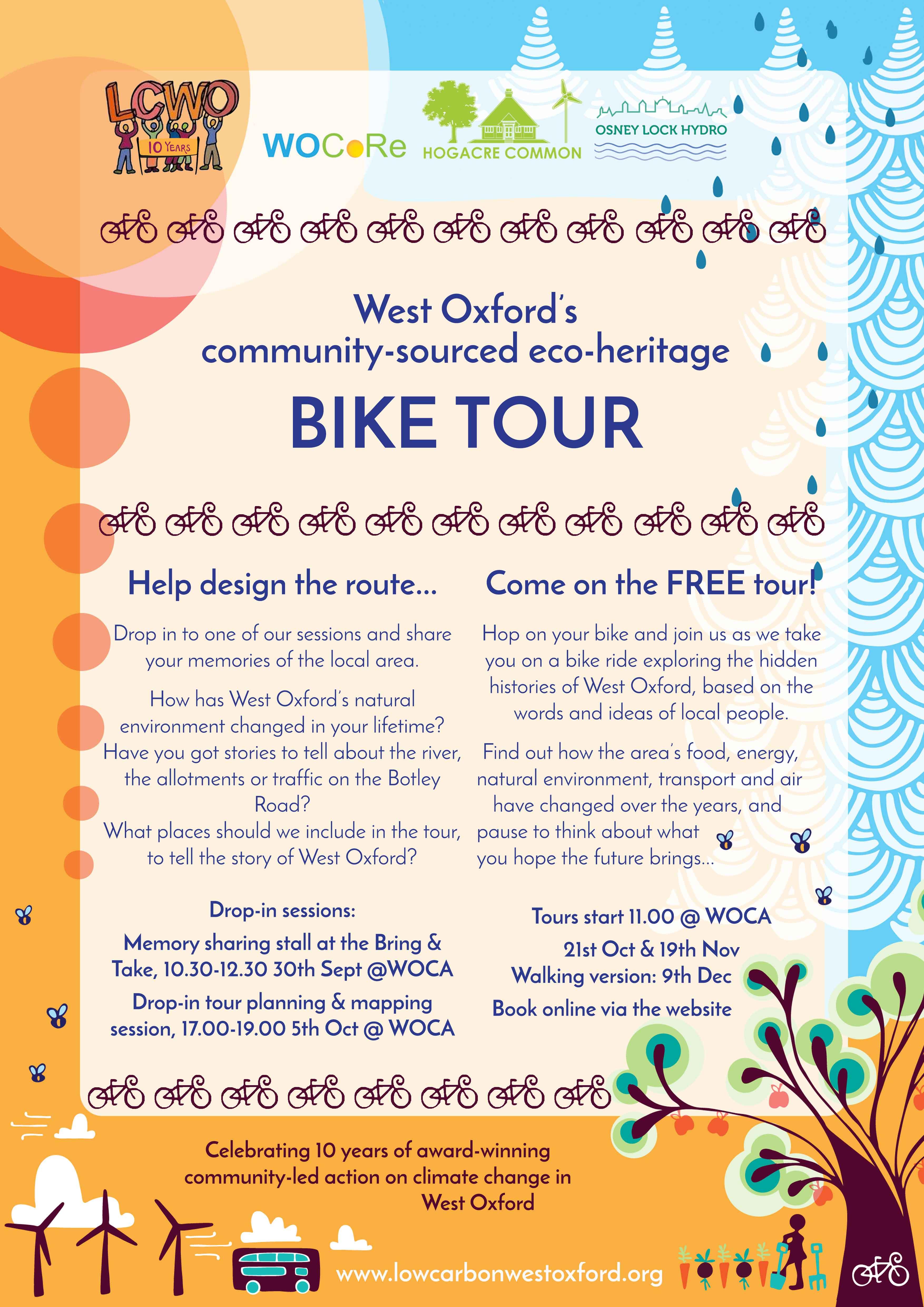 Bike tour poster