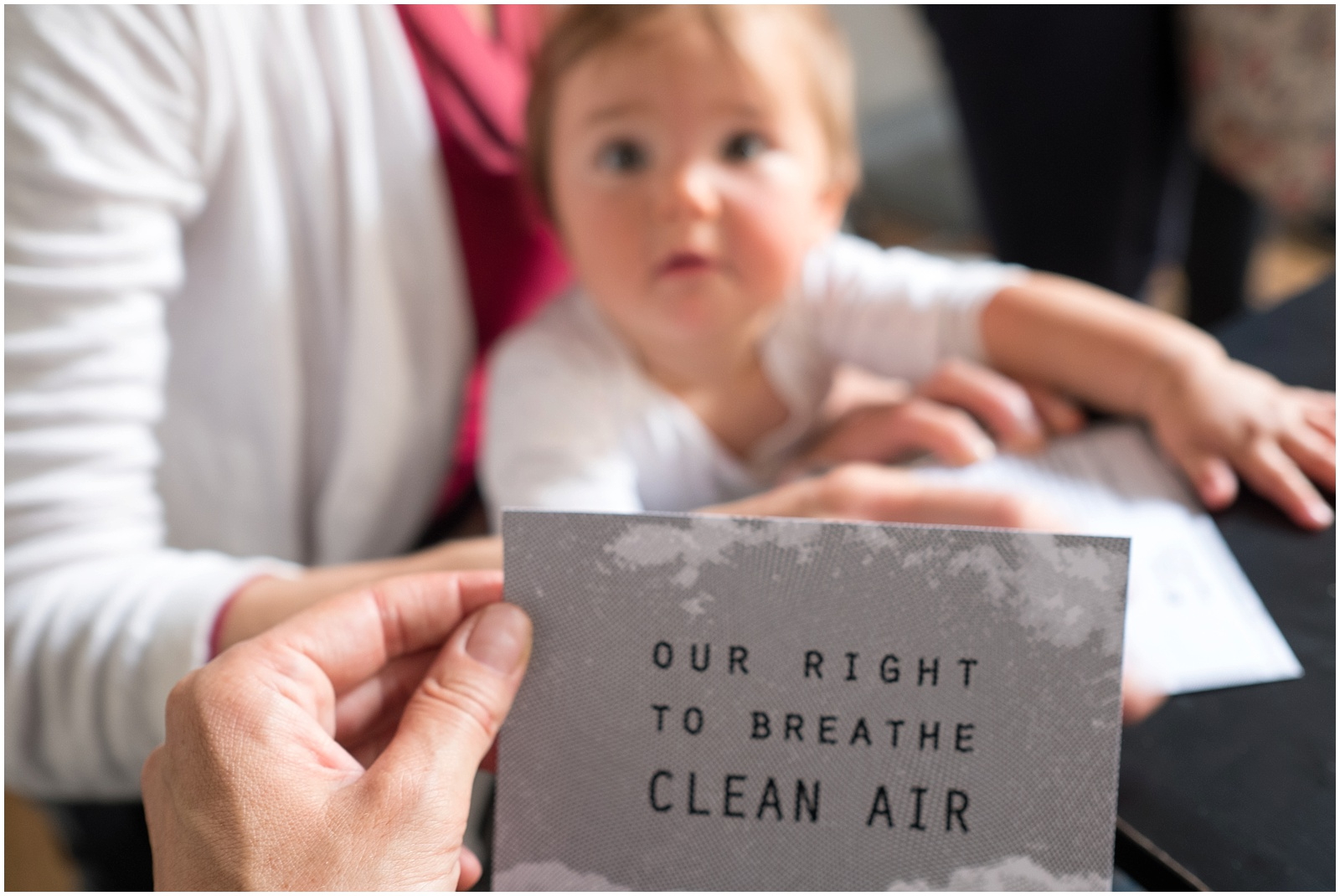 'Our right to breathe clean air'
