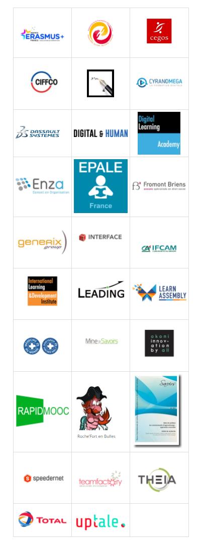 Les partenaires et sponsors du Hackathon du cecrleAPE