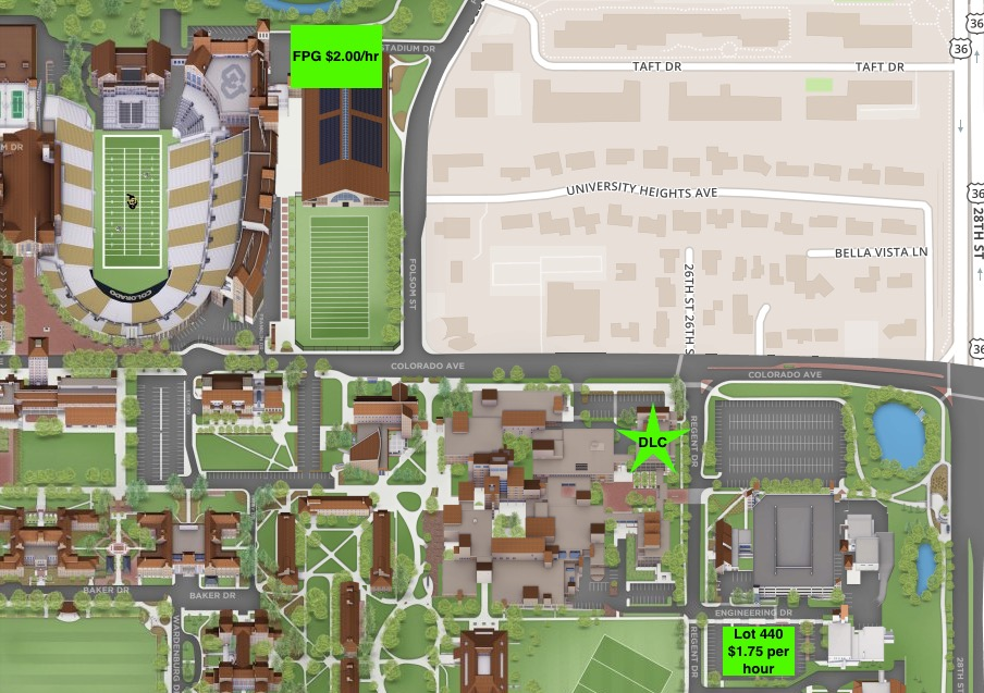 Event Parking: Map and Prices