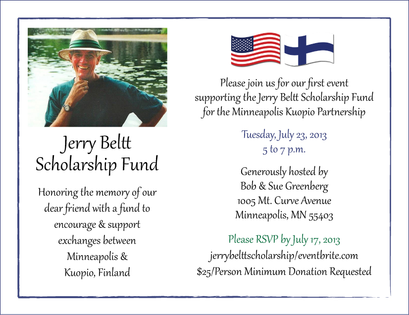 Jerry Beltt Scholarship