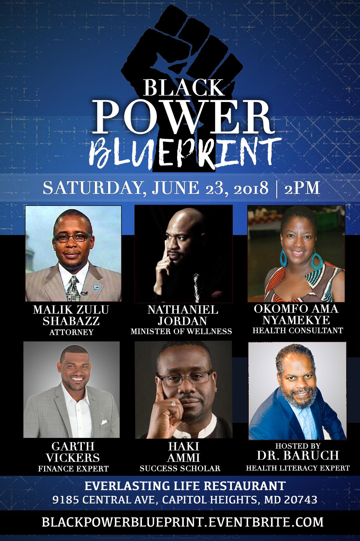 Black power blueprint tickets tue jul 31 2018 at 700 pm eventbrite description malvernweather Gallery