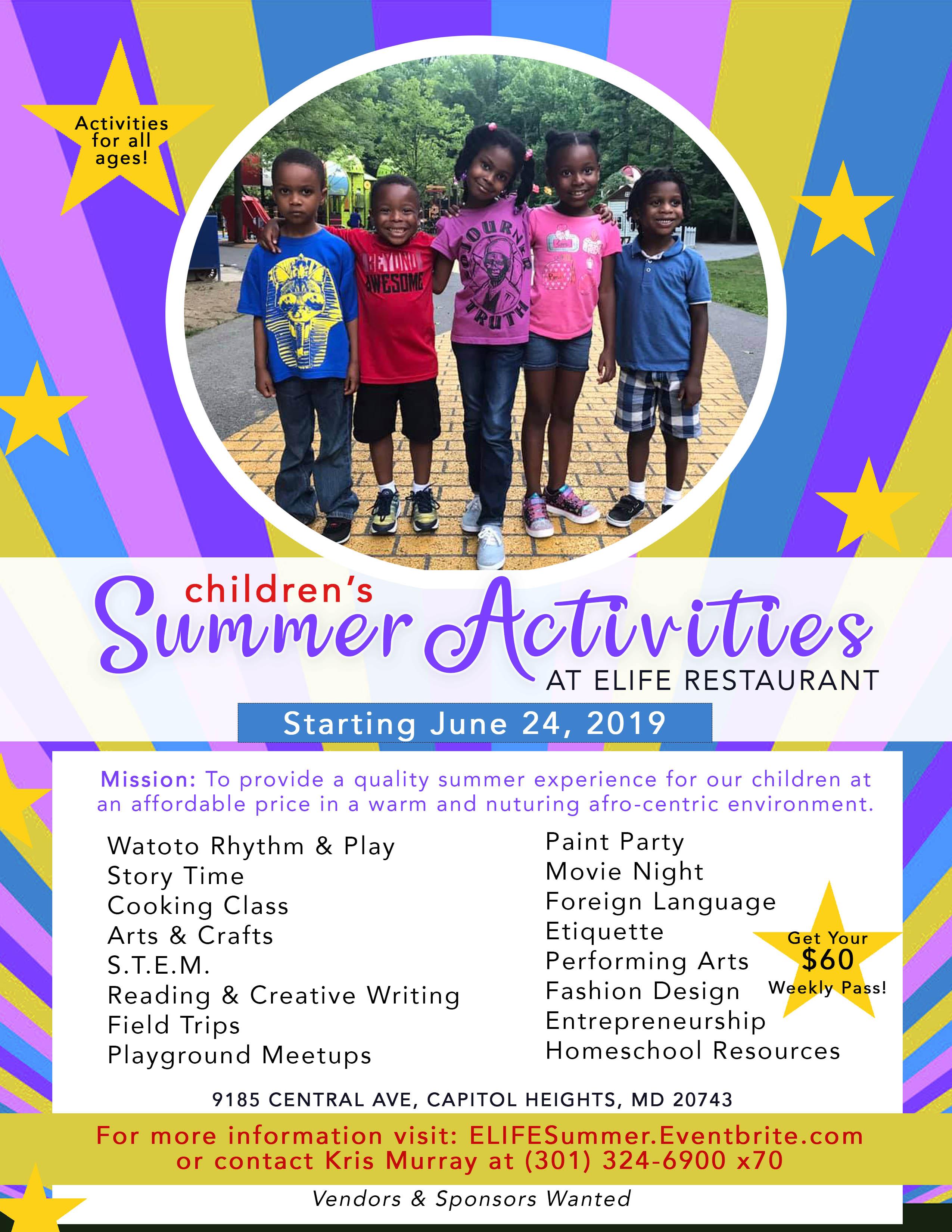 ELife Summer 2019