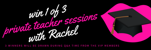 win 1 in 3 sessions with Rachel