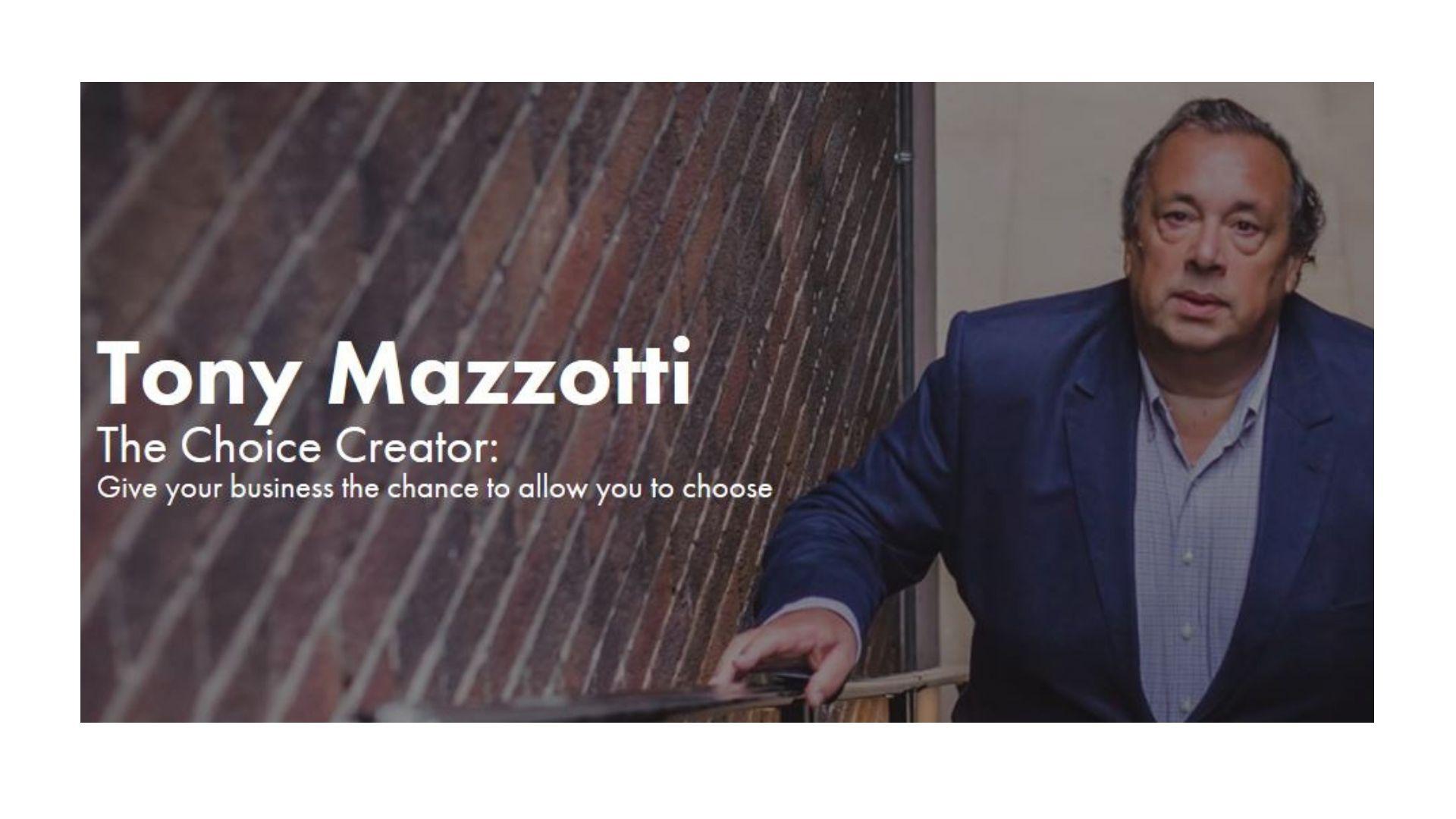 Tony Mazzotti - Action Coach