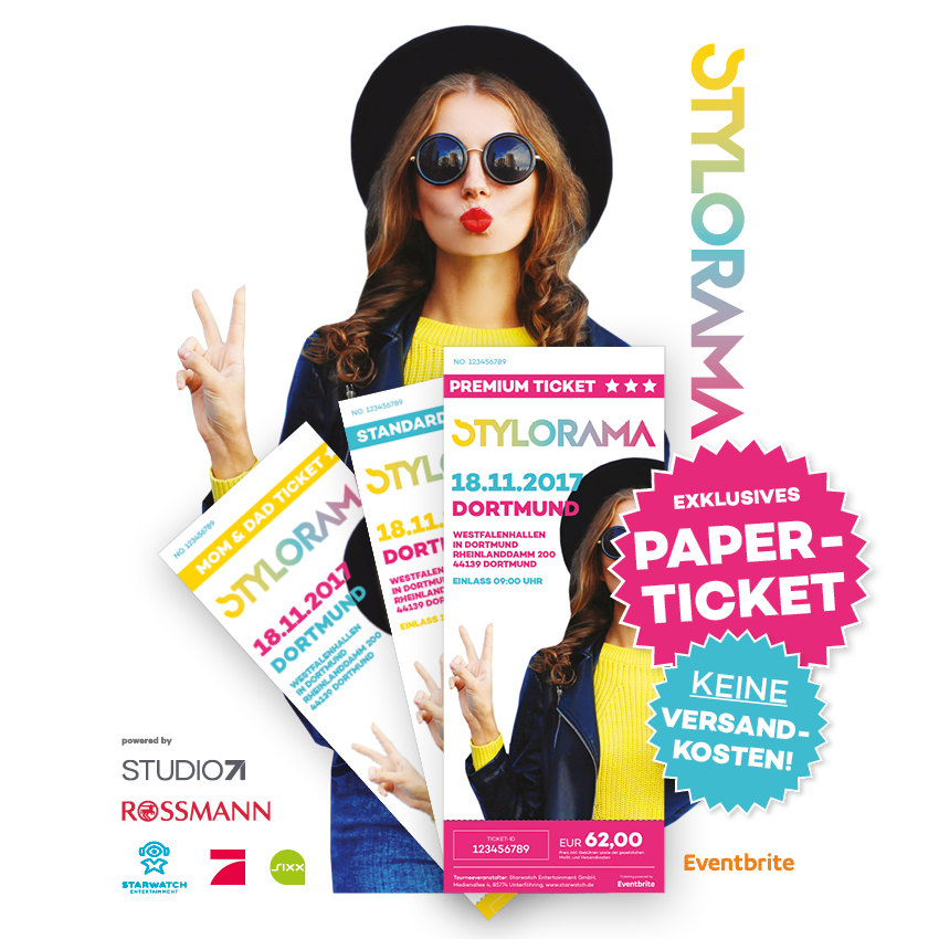 Stylorama Papertickets!