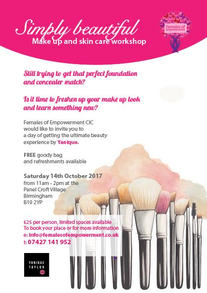 Simply Beautiful Make-up & Skincare Workshop