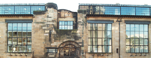Mackintosh Building at Glasgow School of Art Renfrew Street