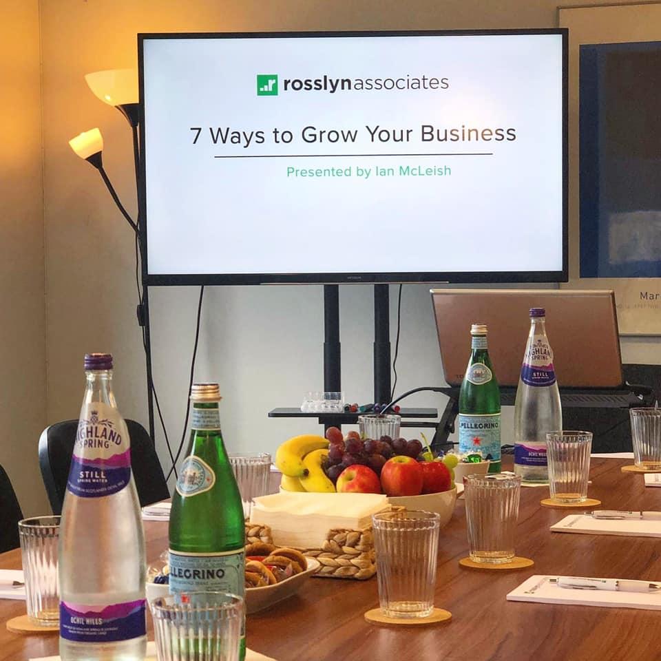 7 ways to grow yourbusiness seminar