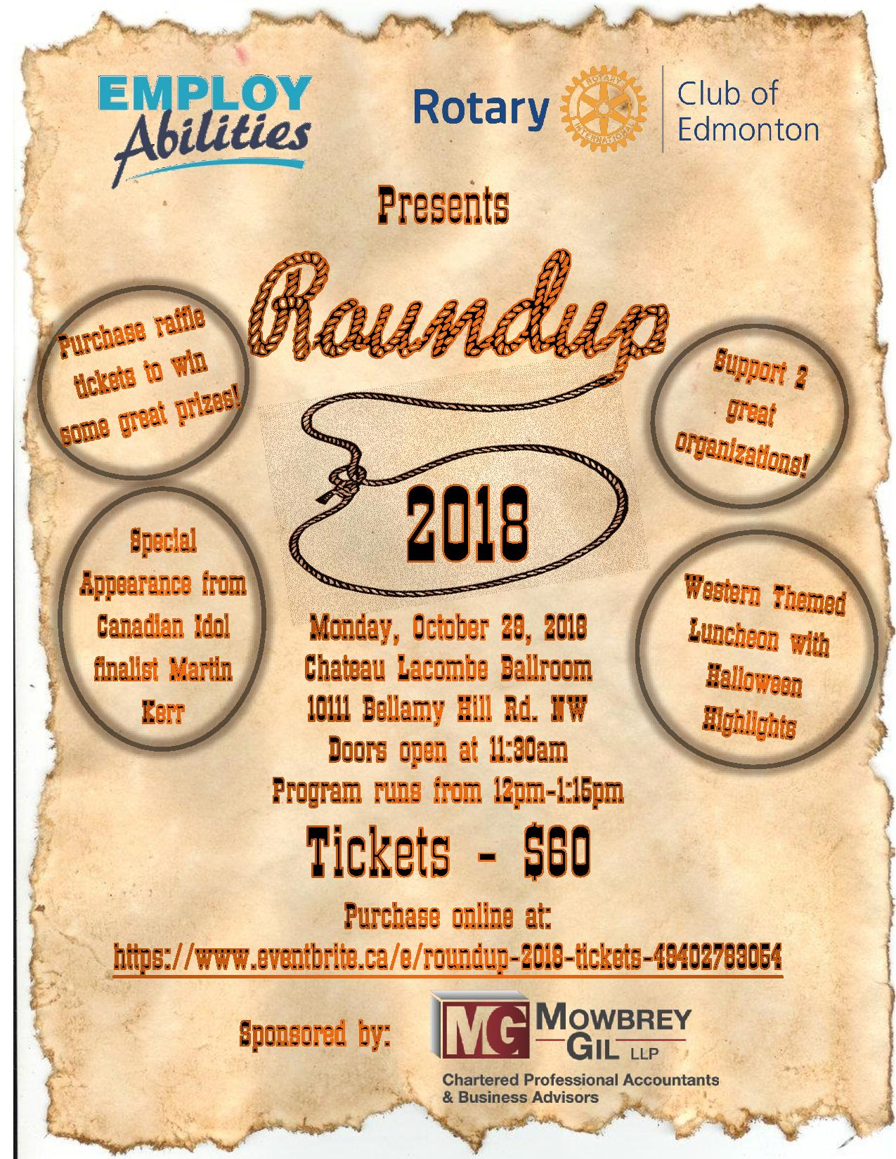 Roundup Poster 2018