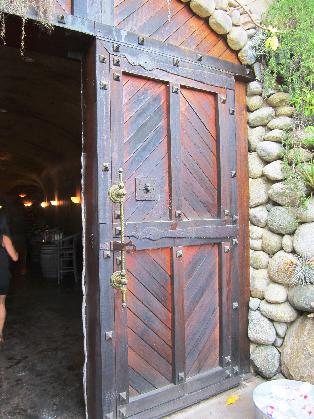 Wine Cave Entrance 1