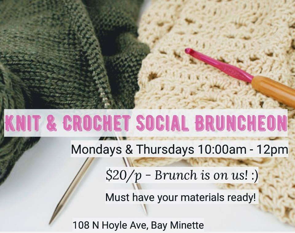 Knit & Crochet Social Bruncheon