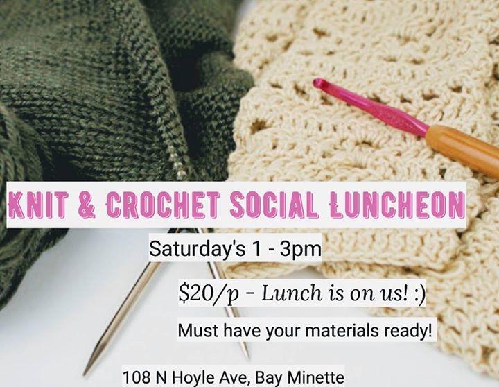 Knit & Crochet Social Luncheon