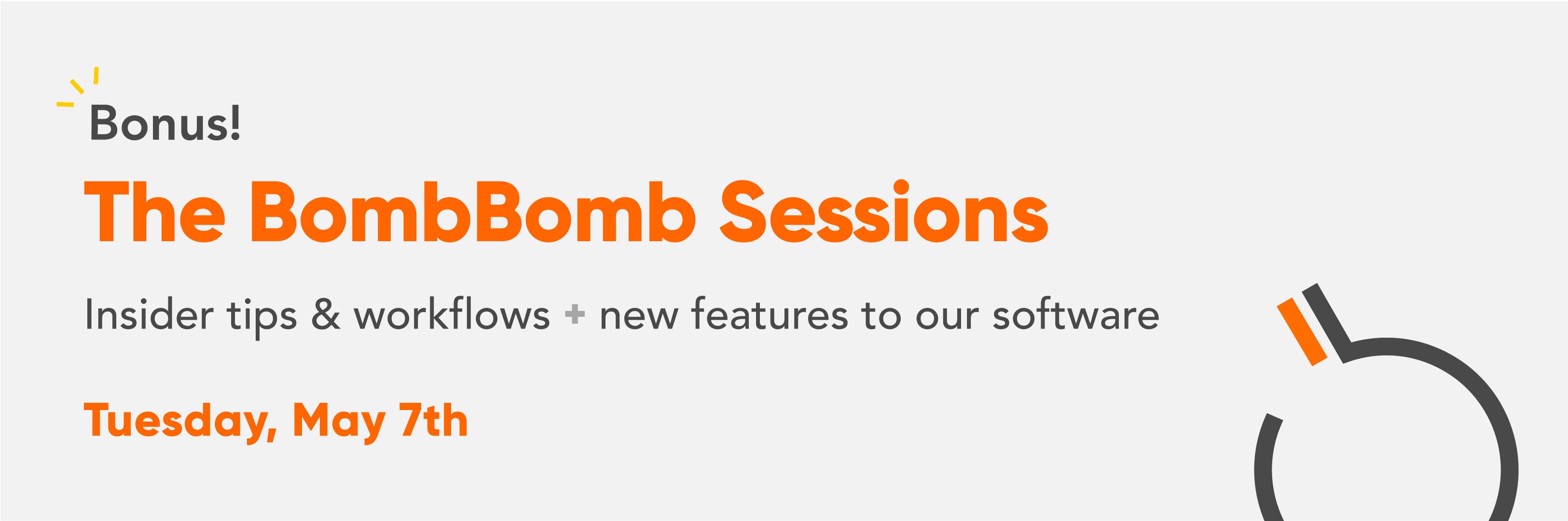 BombBomb Sessions