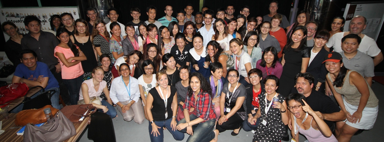 Group photo of Women's Startup Weekend 2012 Participants