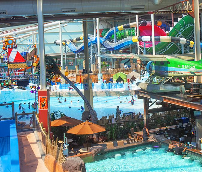 Camelback Lodge Indoor Waterpark Home: Night With The Titans At Aquatopia Tickets, Sun, Nov 12
