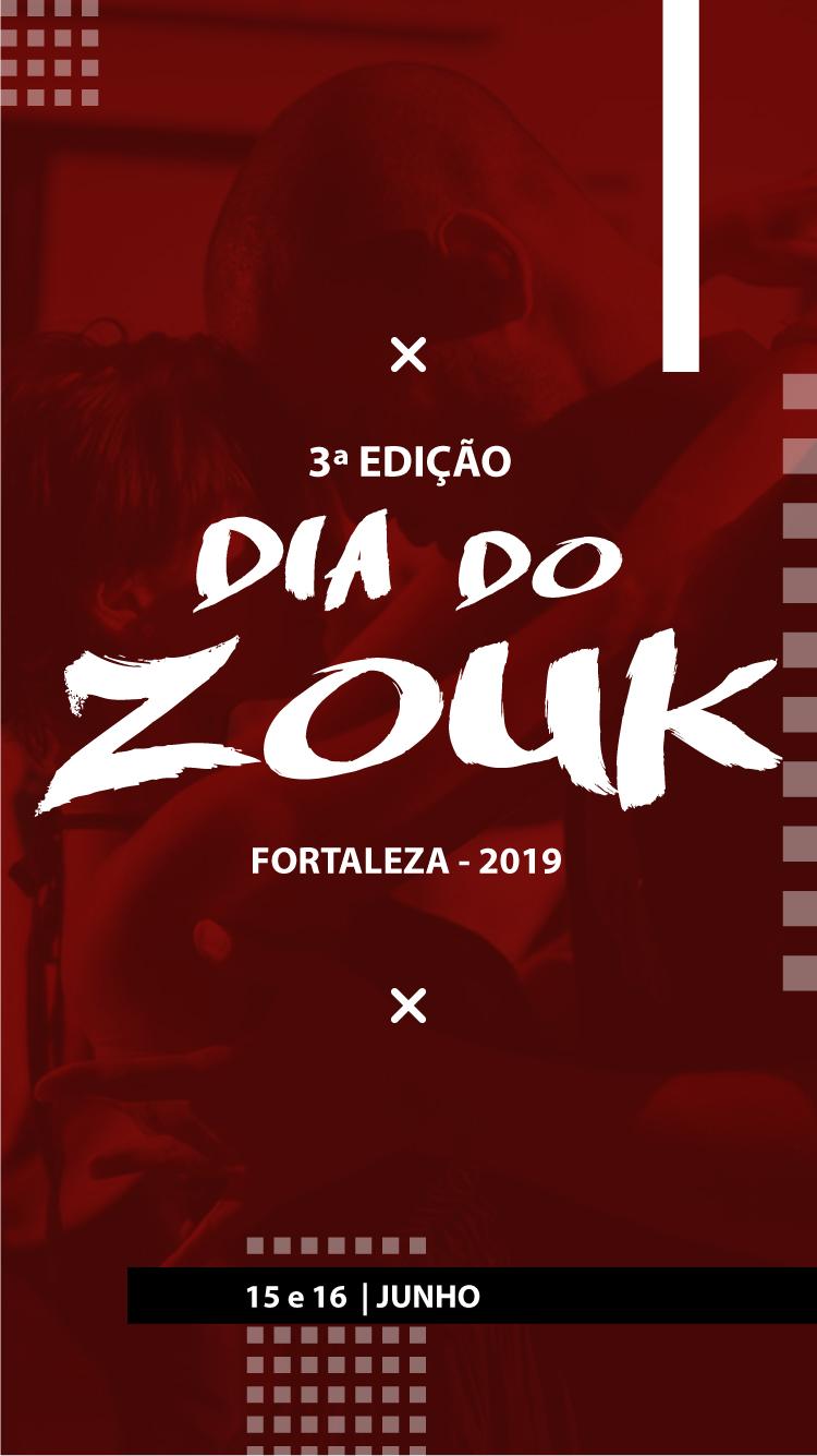 Festa comemorando 3ª edição do dia do zouk em fortaleza