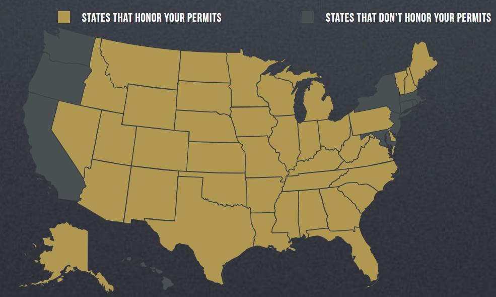Illinois CCW States