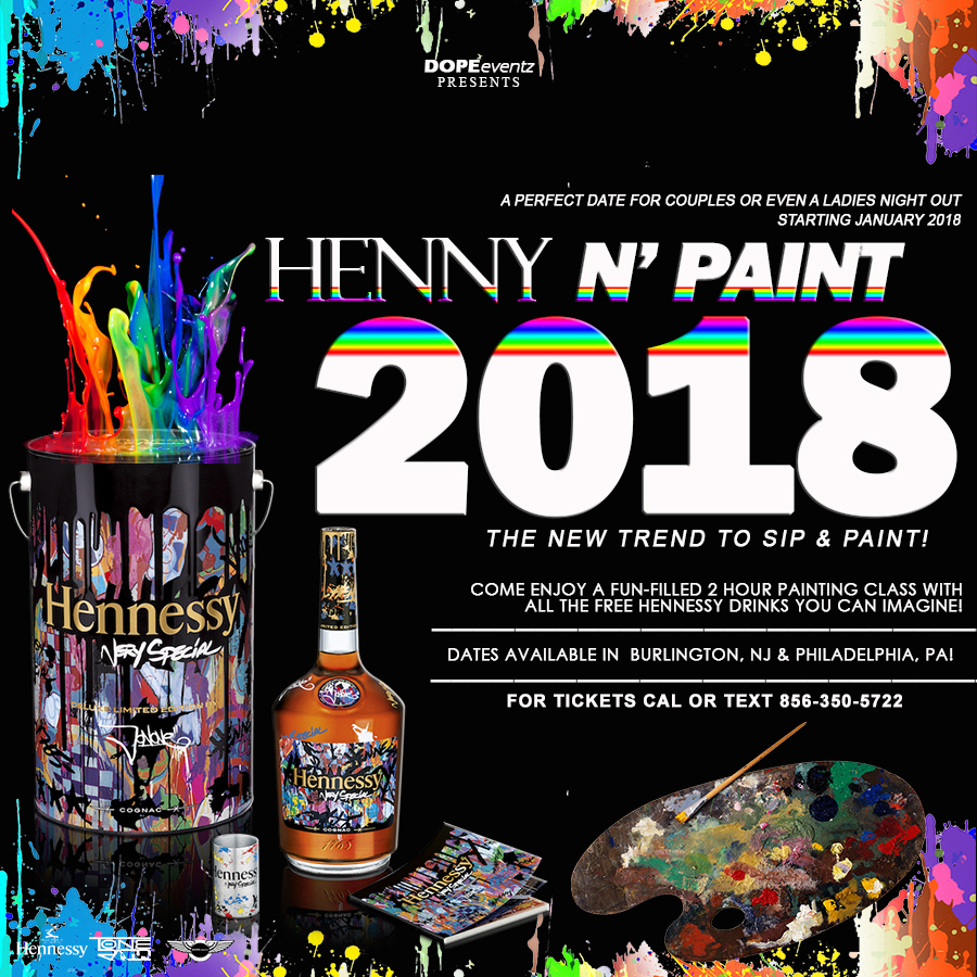 Hennessy Wallpaper: HENNY N' Paint! Tickets, Fri, Jan 12, 2018 At 7:00 PM