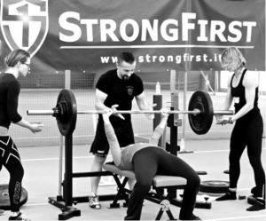 StrongFirst SF bench press tuition
