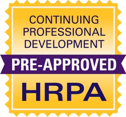HRPA Pre-approved for CPD