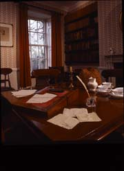 The dining room at Haworth