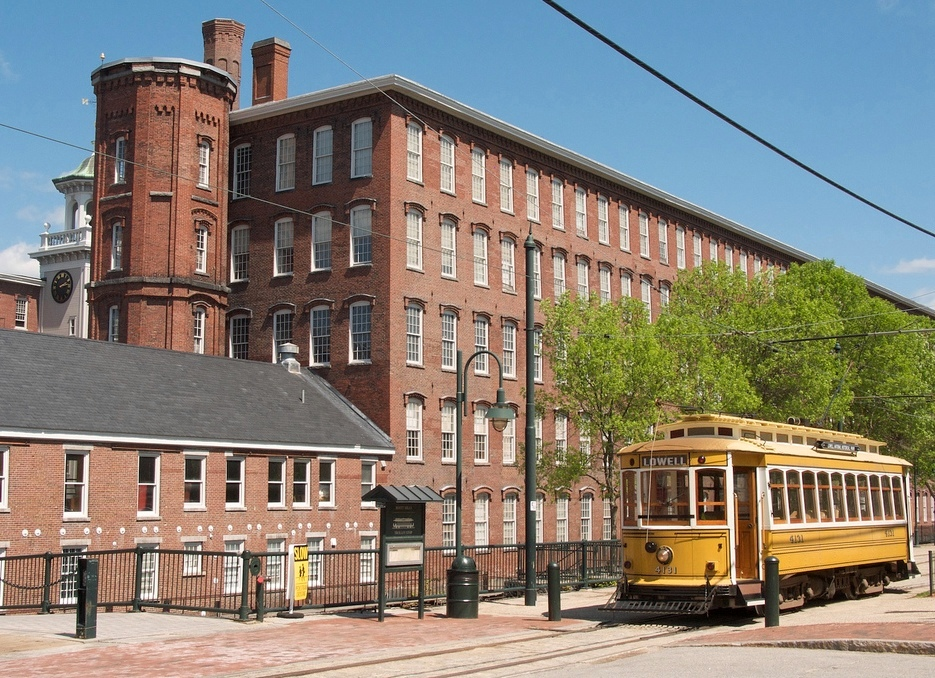 The Boott Cotton Mill Museum and Trolley