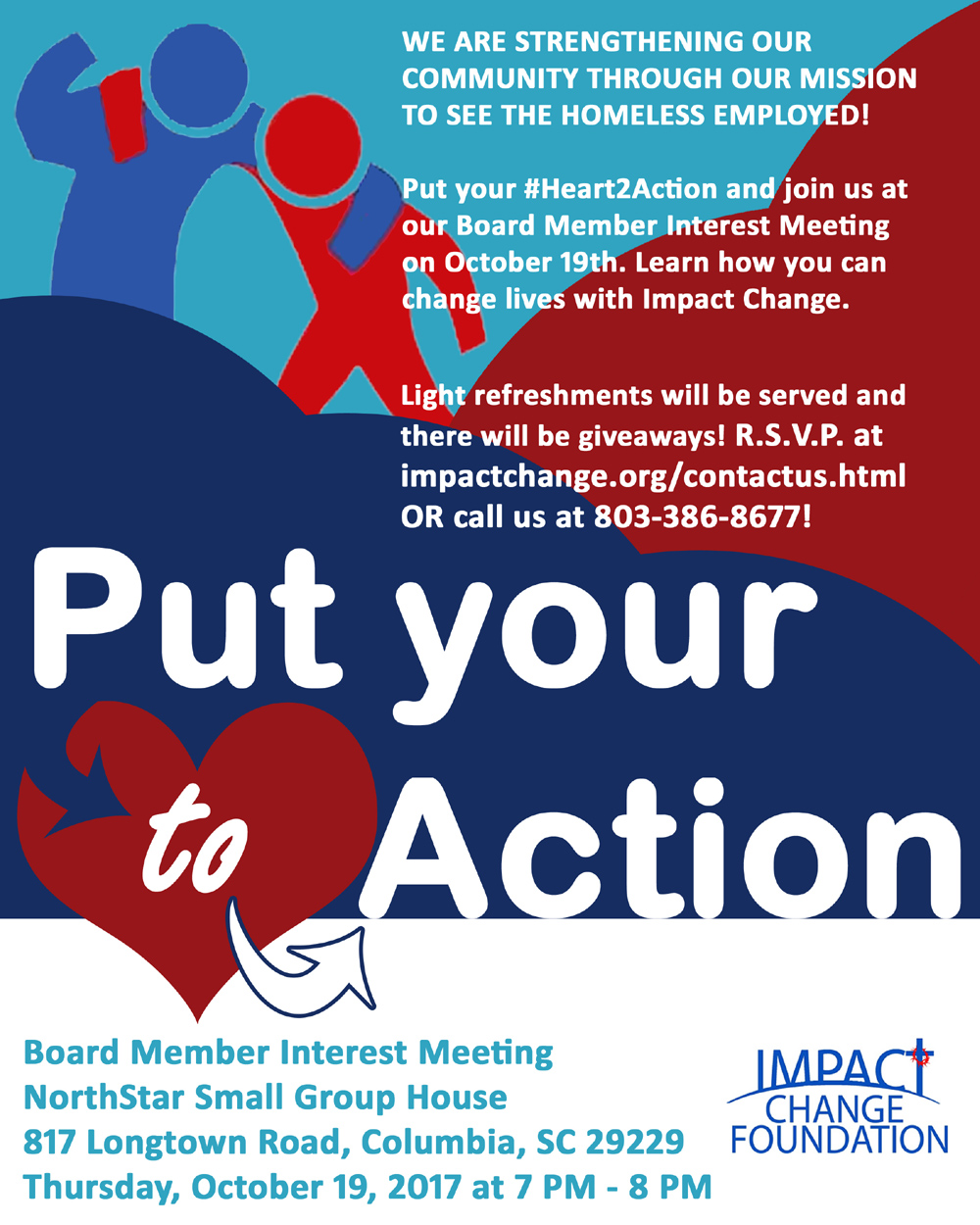 Put your #Heart2Action - Join a Growing Organization!