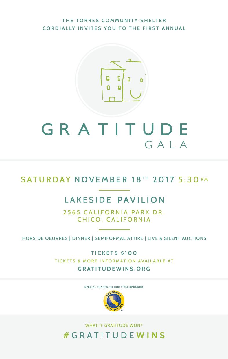 Gratitude Gala Invitation