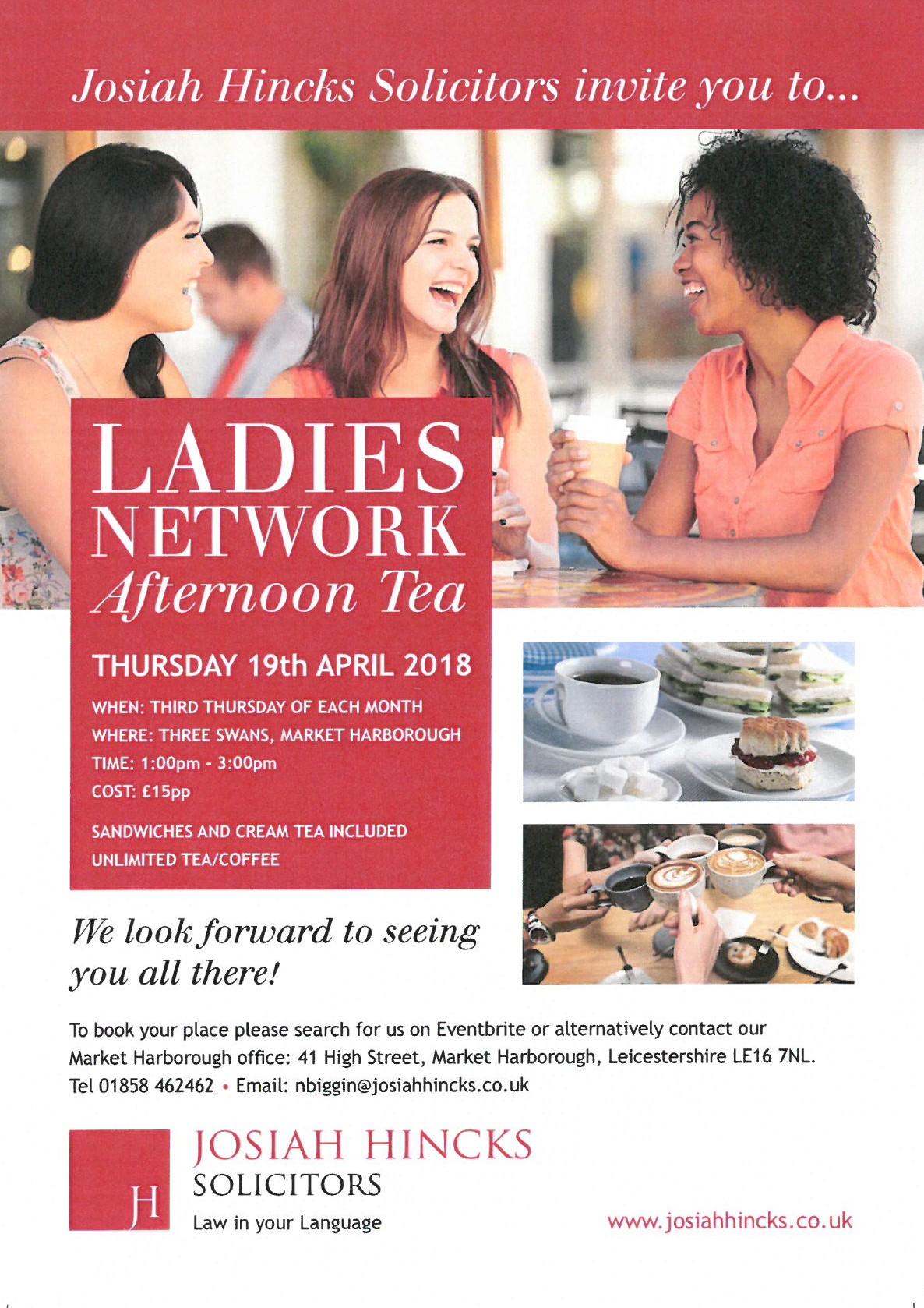Ladies Network Afternoon Tea