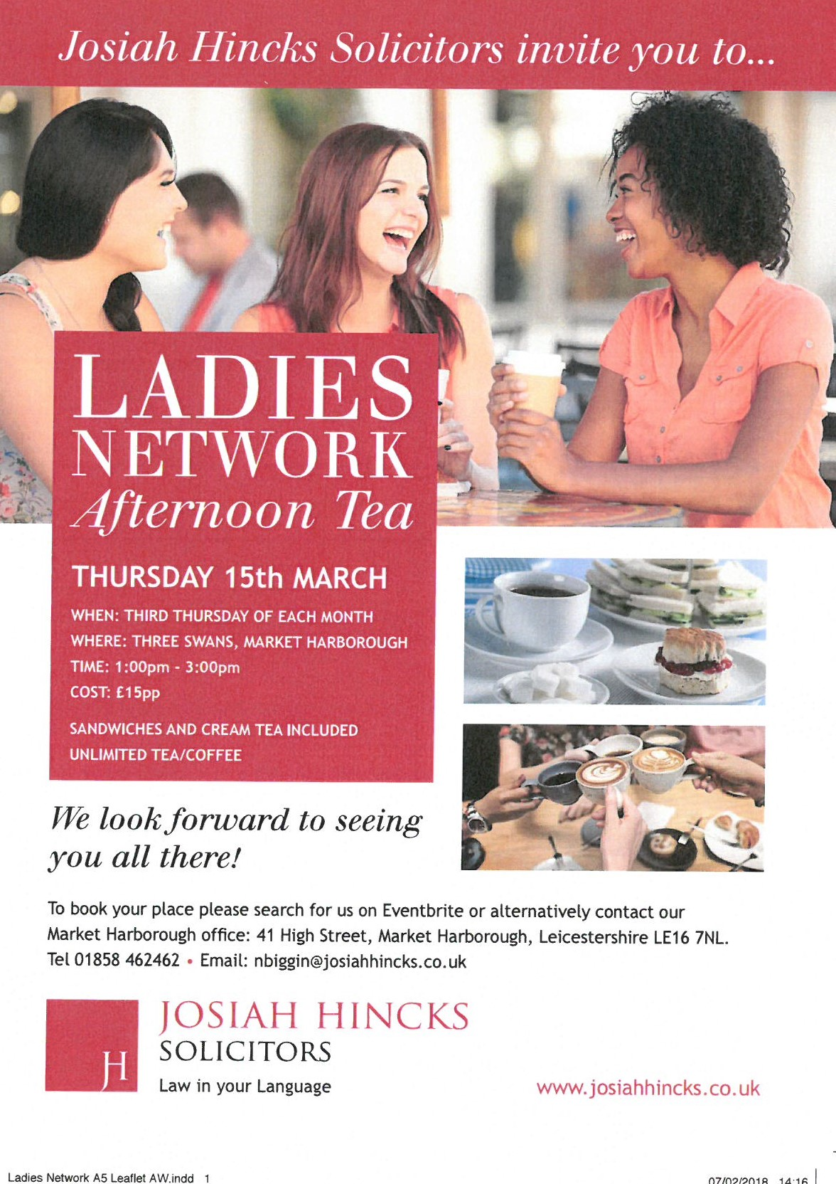 Ladies Network Afternoon Tea