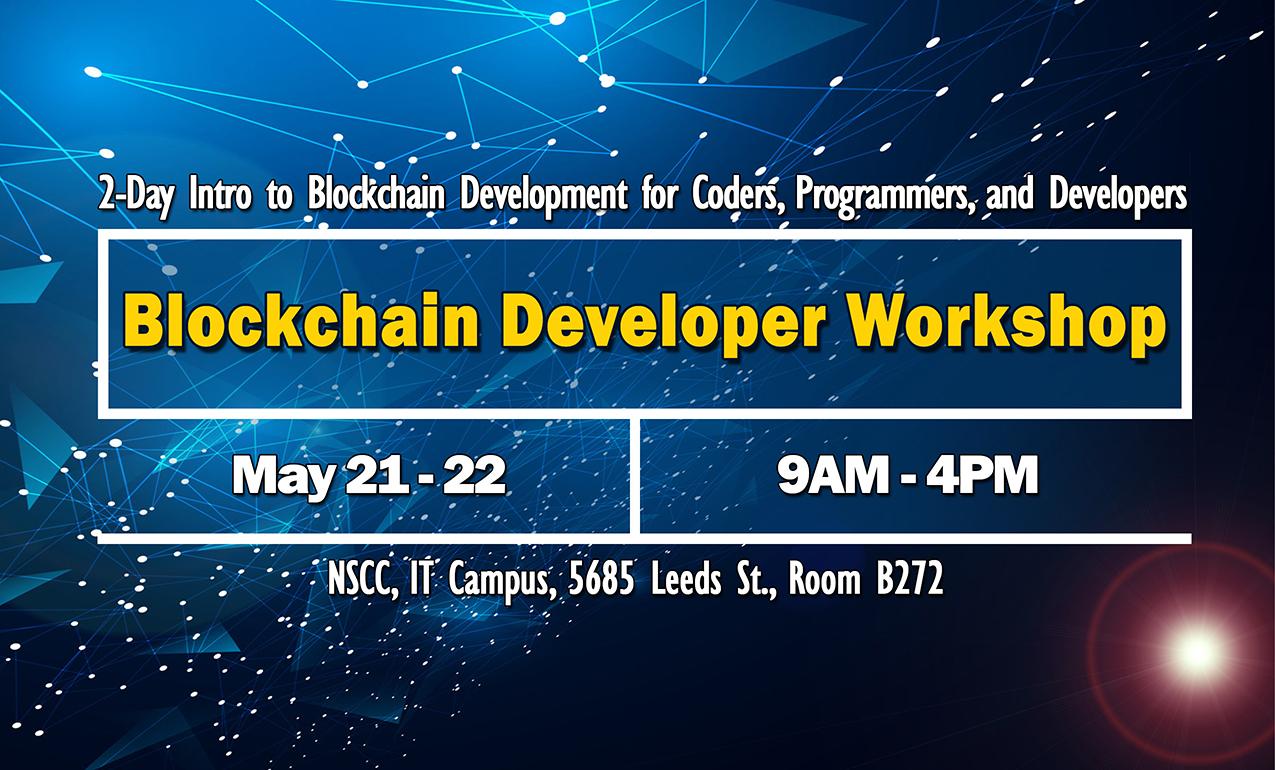 Blockchain Workshop Poster