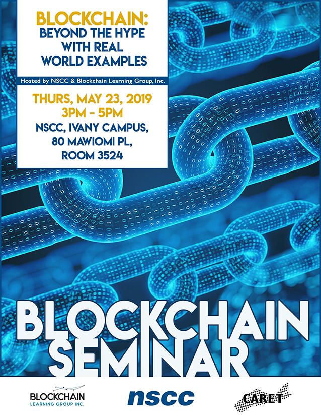 Blockchain Seminar Poster