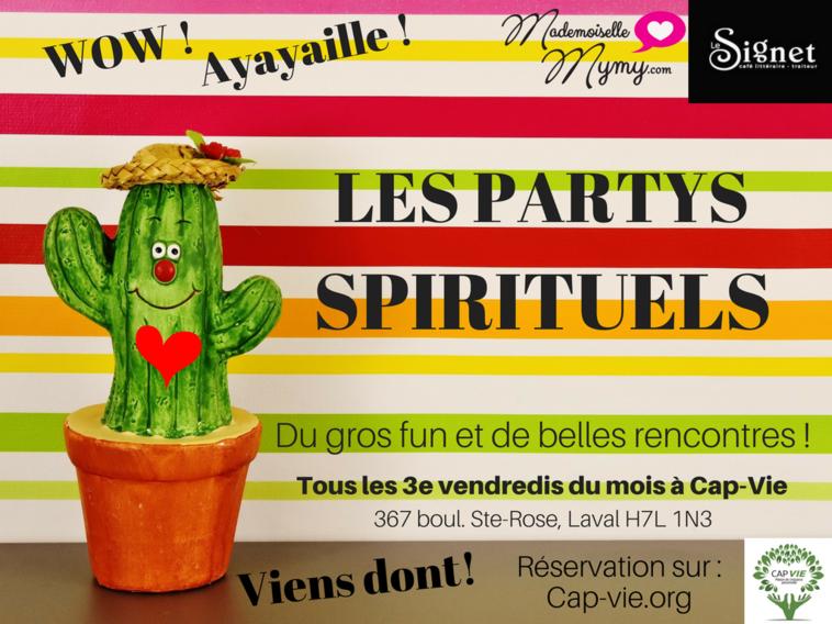 party spirituel cap vie mademoiselle mymy