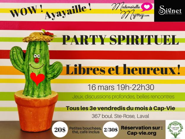 party spirituel libres et heureux